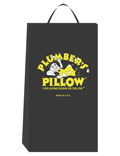 plumber's pillow in black